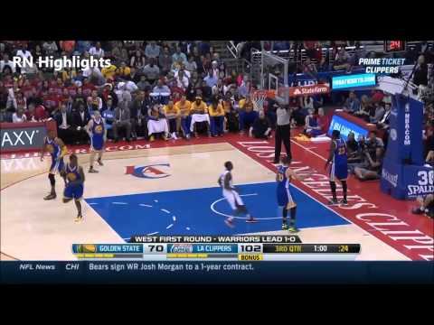 Darren Collison 12 Pts & 10 Ast vs GSW (First Round G2 - 2014 Playoffs)