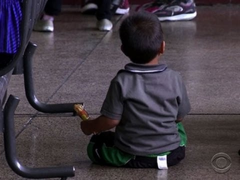 Immigrant children seek escape from violence, poverty