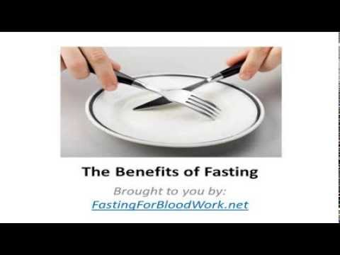 The Main Benefits of Fasting - Brought to You by Fasting for Blood Work
