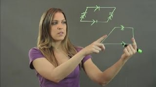 What Is the Difference Between a Trapezoid & a Parallelogram? : Math Instruction
