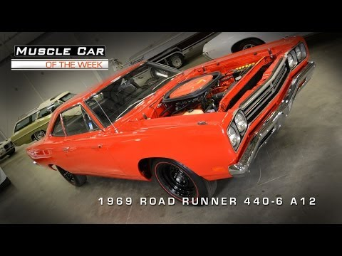 Muscle Car Of The Week Video #2: 1969 Plymouth Road Runner A12