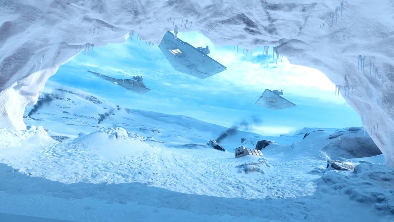 Hoth Star Wars Background Scenes