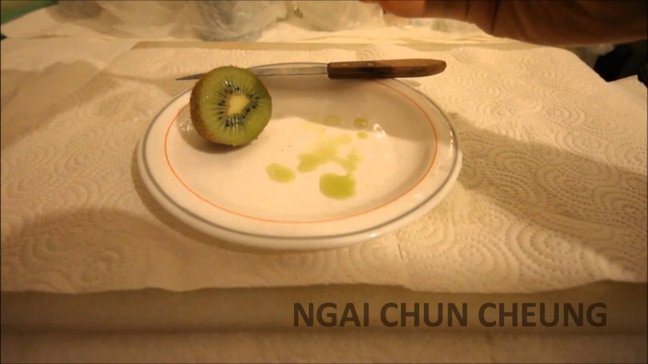 how to eat kiwi fruit youtube