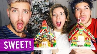 BEST GINGERBREAD HOUSE! | Lifeburry 2015