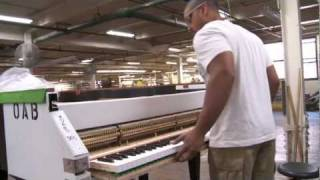 The Making of a Steinway, Narrated by John Steinway