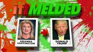 Conan: If They Melded, Huffington + Trump