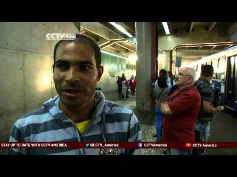 Brazilian subway workers continue to strike in Sao Paulo