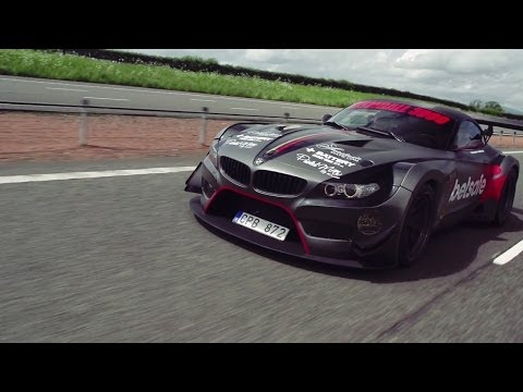 Jens Byggmark's BMW Z4 GT3 Breaks Down! - 2014 Gumball 3000 - Team Betsafe