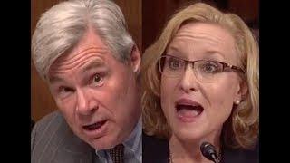 """THE STRANGEST DAMN THING!!!"" Sheldon Whitehouse BRILLIANTLY DESTROYS Trump Judicial Nominee"