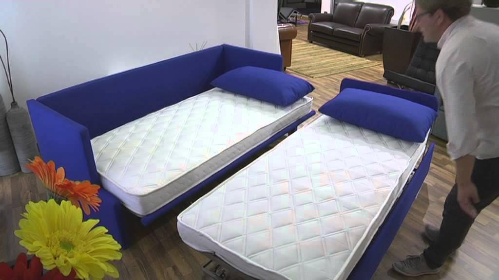Springfield sofa bed hide a bed made by Santambrogio