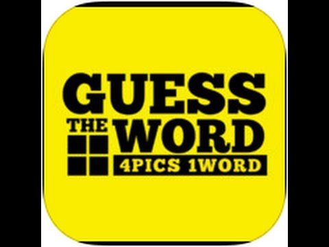 Guess The Word - 4 Pics 1 Word Level 7 Answers