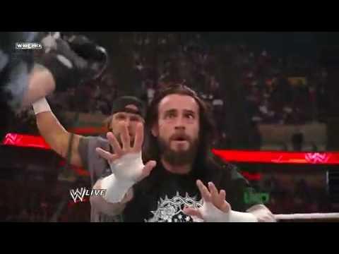 Rey Mysterio shaves CM Punks hair