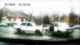 Подборка ДТП с видеорегистраторов 13 \ Car Crash compilation 13