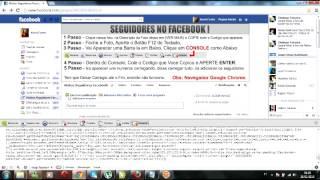 Ganhar Seguidores No Facebook Sem Programa.