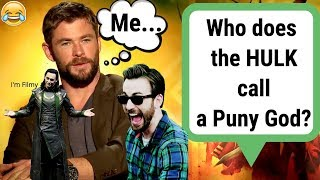 Avengers: Infinity War Cast Know Nothing About Marvel - Try Not To Laugh Quiz