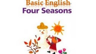 Four Seasons, Learn English through stories