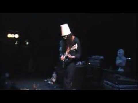 Buckethead Jordan (shreds the guitar) Fingers on Fire