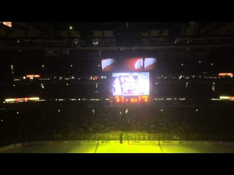 Intro to Game 7 Blackhawks vs Kings 2014 Stanley Cup Playoffs