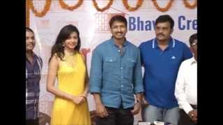 Gopichand - Srivas movie launch