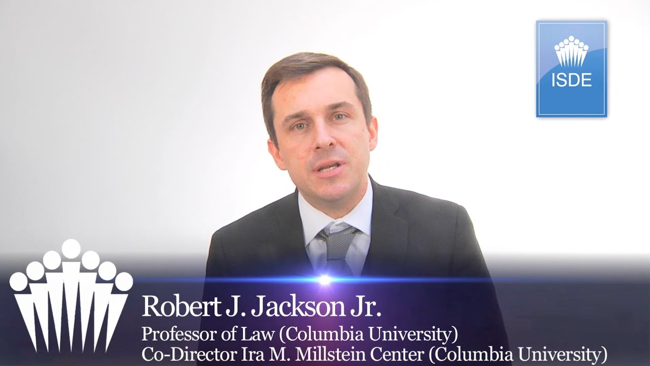 Robert Jackson. M&A in the USA