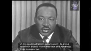 Martin Luther King Jr. Speech Civil Disobedience And