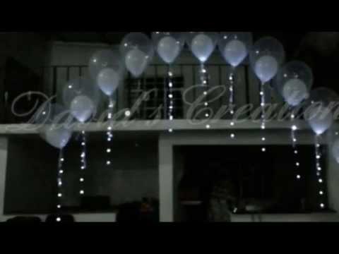 Decoracion para Boda-Bautizo. - Decoraciones con globos