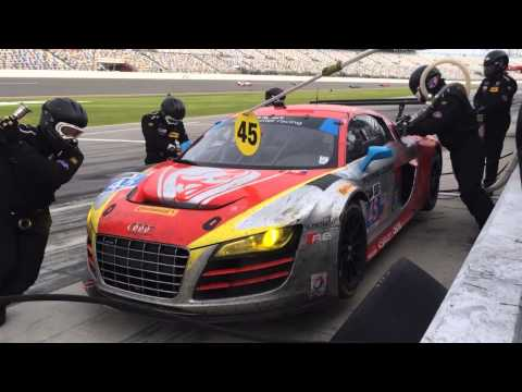 Daytona 24 - Flying Lizard Pistop