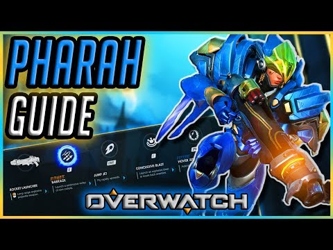 How To Play New PHARAH | Guide & Gameplay Tips [Overwatch]