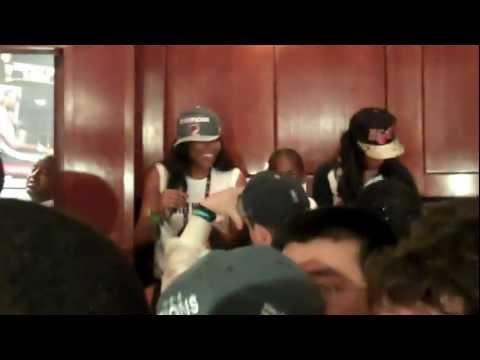 Miami Heat 2012 NBA Finals celebration (part 3)