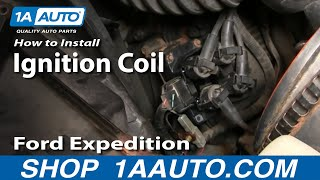 How To Install Replace Ignition Coil 2.0L 2.4L 4.6L 5.0L