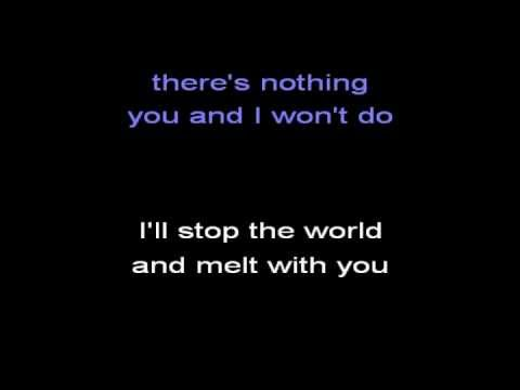 I Melt With You (karaoke) - in the style of Modern English