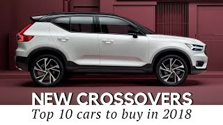 10 New Crossover Cars Coming in 2018 (Prices and Technical Specs Compared)