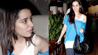 Shraddha Kapoor Without Makeup In Bandra