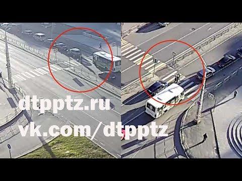 На улице Чапаева сбили двух пешеходов