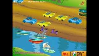 """Tom And Jerry Cartoon Online Game """" Cat Crossing """""""