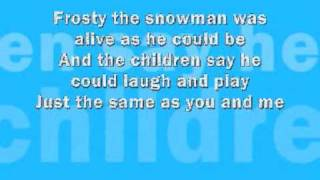Frosty The Snowman - Ingles
