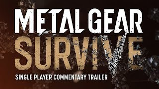 Metal Gear Survive - Single-Player Mode Trailer