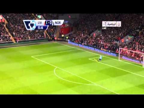 Luis Suarez AMazing Shootout Goal VS Norwich city 4/12/13[HD] Liverpool vs Norwich 5-1 2013 [HD]