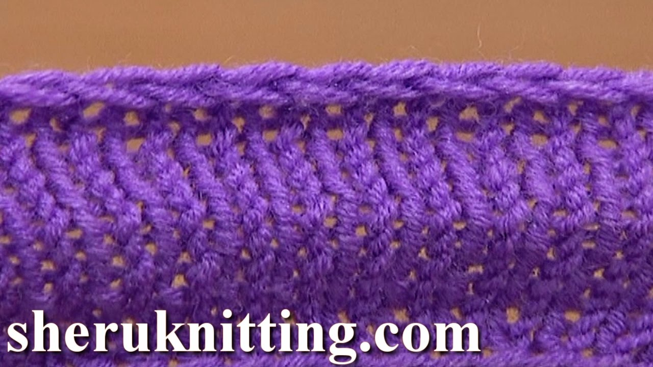 Knitting Casting Off Tutorial : Knit decrease bind off cast by purling two together