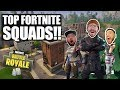 TOP FORTNITE SQUADS LEVEL 100 TIER 70 FORTNITE BATTLE ROYALE WITH TEAM ALBOE