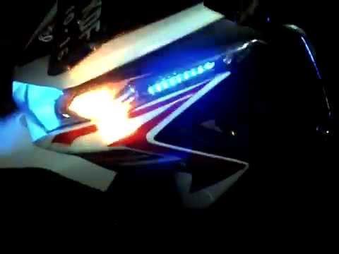 flip flop ala bus malam motor vario