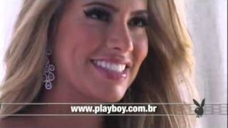 Making Of Adriana Sant´Anna BBB Na Playboy