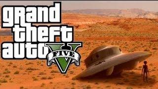 GTA V Como Encontrar O Misterioso Holograma Alien GTA