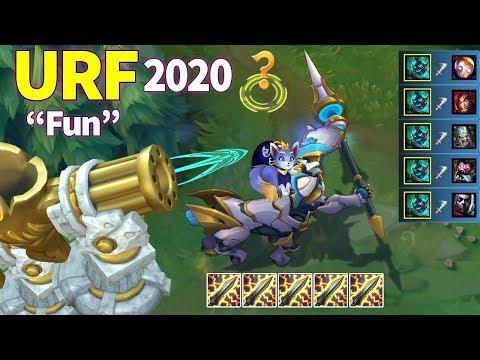 ARURF is So Fun 2020 (URF Sylas 1 HP OUTPLAY, URF Hecarim + Yuumi...)