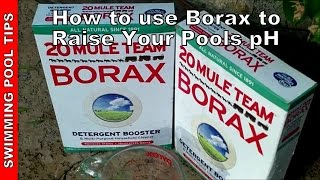 How To Use Borax To Raise The PH In Your Pool How Much