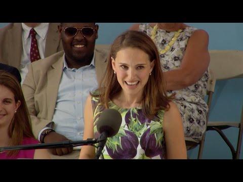 Natalie Portman Harvard Commencement Speech | Harvard Commencement 2015, Natalie Portman Harvard Commencement Speech | Harvard Commencement 2015