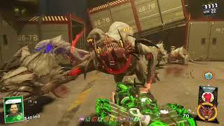 IW zombies Beast from beyond BOSS FIGHT SOLO