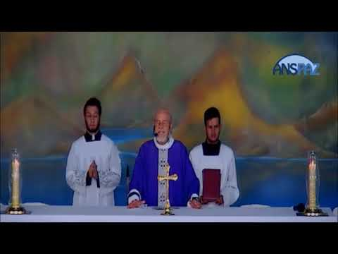 Santa Missa | 4° Domingo do Advento | 24.12.2017 | Padre José Sometti | ANSPAZ