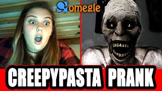 Scary Monster on Omegle Prank