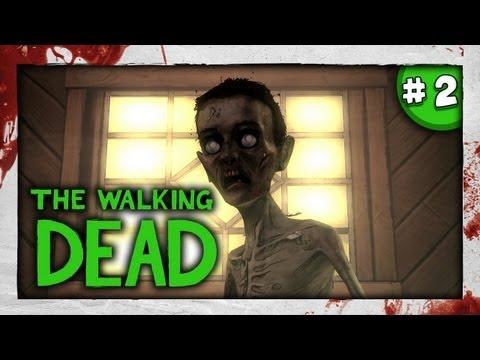 SLENDY? - JUMPSCARE D: - The Walking Dead: Episode 4 - Part 2 - Around Every Corner, pewdiepie